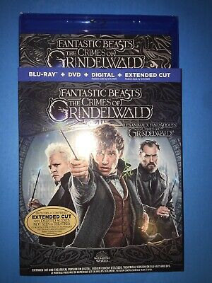 fantastic beasts the crimes of grindelwald Blu Ray Combo