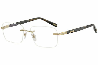 ea45828edf Chopard Eyeglasses VCHC37 VCHC 37 0316 23K Gold Rimless Optical Frame 56mm