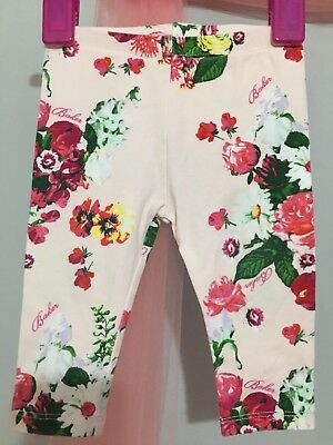 Lovely Baby Girls Designer Ted Baker Floral Print Leggings 3-6m💫