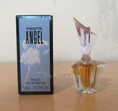 Miniature de Parfum ANGEL VIOLETTE de Thierry Mugler EDP 5ml. In box