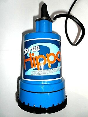 "Clarke Hippo 2 1"" Portable Submersible Water Pump 7230025"