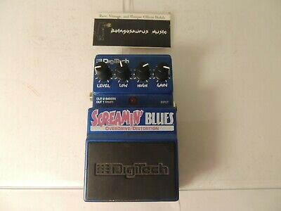 Digitech Screamin Blues Effects Pedal Overdrive Od Free Usa Shipping