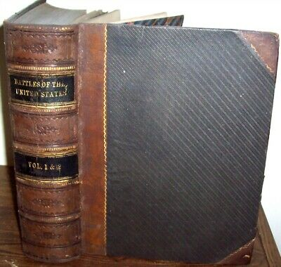 1858 United States Revolutionary War Of 1812 Indian Mexican Battles> Illustrated