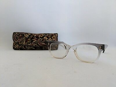 Used Vintage Foremost Eyeglass Frames Clear to Gray