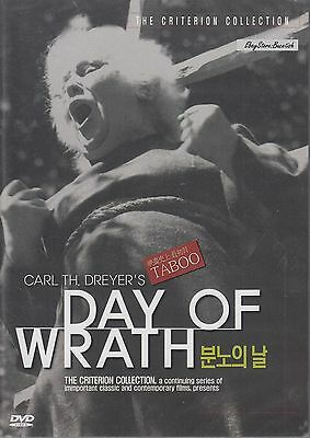 CARL TH. DREYERS DAY OF THE WRATH  NEW DVD All Regions