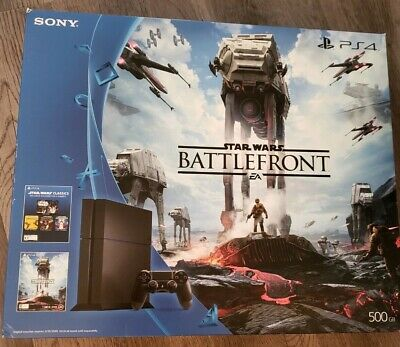 Sony PlayStation 4 Star Wars Battlefront Bundle 500GB Console New In Box PS4