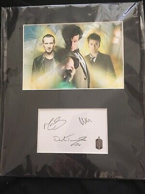 Doctor Who Autograph