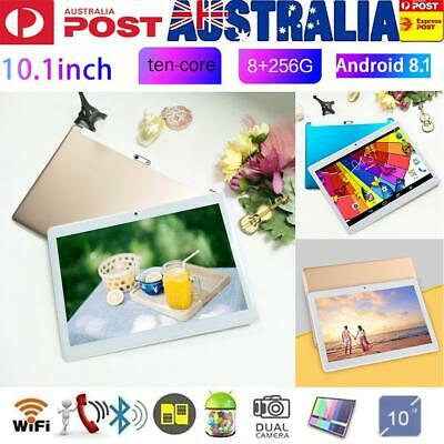 """HD 10.1"""" Tablet Octa-Core 8G+256G Android 8.1 Bluetooth WIFI GPS Laptop Camera"""