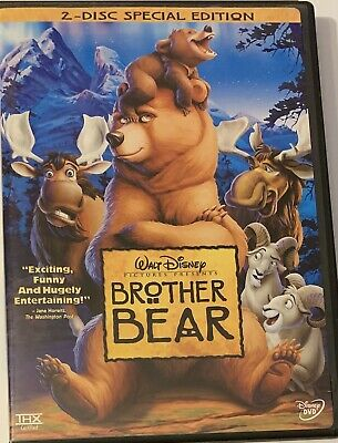 Brother Bear (DVD, Two-Disc Special Edition) Disney