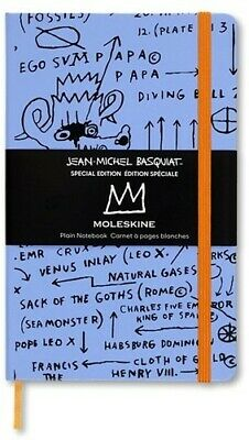 Moleskine Limited Edition Notebook Basquiat, Large, Plain, Sketch, Hard Cover (5