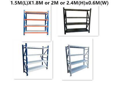 1.5M Length Warehouse Racks Storage Steel Shelving Garage Shelf Racking Shelves