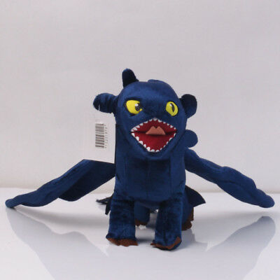 How To Train Your Dragon 3 Toothless Night Fury Soft Plush Power Doll