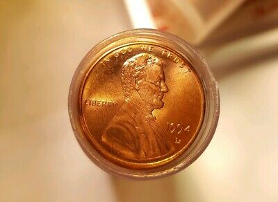 1994 D Lincoln Memorial Cent Penny BU Uncirculated 50 Coin Roll Nice
