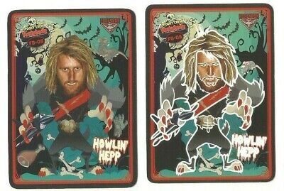 2019 Teamcoach Footybodz Essendon Dyson Heppell Set Glow And Rub 2 Cards