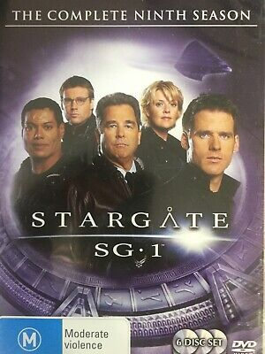 STARGATE SG 1 - Season 9 6 x DVD Set Exc Cond! Complete Ninth Series Nine