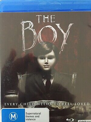 The Boy Bluray 2015 As New!