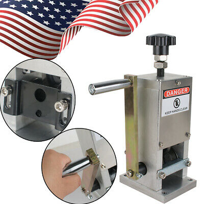 Durable Copper Wire Strip Machine Hand Crank Drill Operated Stripper Cable devic
