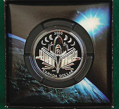 2000 Canada Voyage of Discovery BU Silver dollar - coin only