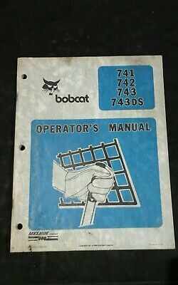 BOBCAT 741 742 743 743Ds Skidsteer Loader Service Repair