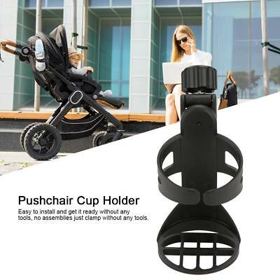 Holder for Bicycle Bike Baby Stroller Rotation Drink Bottle Rack 360 Degree Cup