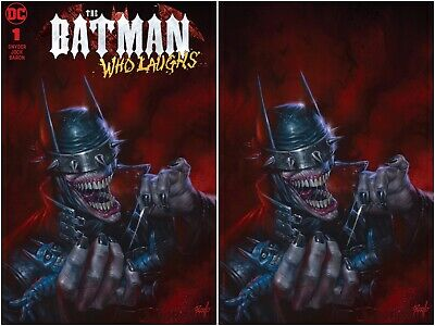 Batman Who Laughs 1 Lucio Parrillo Special Edition Virgin Variant Set W/ Coa Nm