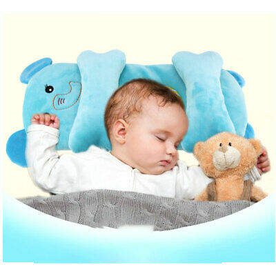 Baby Infant Newborn Prevent Flat Head Neck Syndrome Support Pillow AU