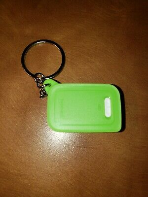 New Tupperware Fridgesmart Keychain Pill Container (Lime Color)