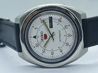 Vintage Seiko Automatic Day Date Japan Made Wrist Watch Used Antique