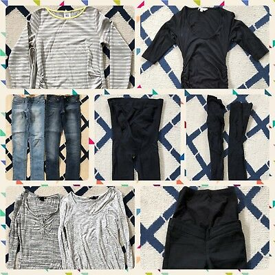 Bulk Lot Of Size 6-10 Maternity Clothes. 10 Items!