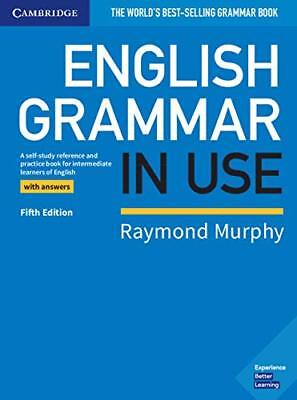 English Grammar in Use Book with Answers by Raymond Murphy 5th Ed 2019 NEW