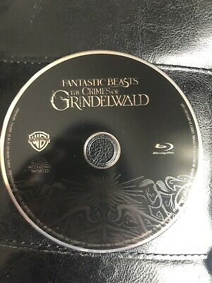 Fantastic Beasts The Crimes Of Grindelwald Bluray Disc ONLY Never Watched