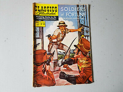 CLASSICS ILLUSTRATED COMIC No. 119 Soldiers of Fortune 1/3 HRN 125