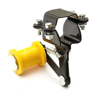 Universal Bolt On Chain Tensioner & Yellow Roller Adjuster GoKarts Chains