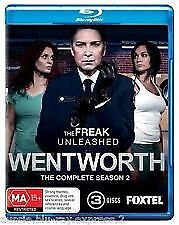 """Wentworth   """"complete Season Two""""     Brand New     3-Disc  Blu-Ray"""