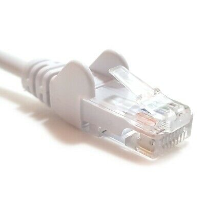 3m White CAT6 RJ45 Network Cable Ethernet LAN PC Game Console TV Wire Lead Gbit
