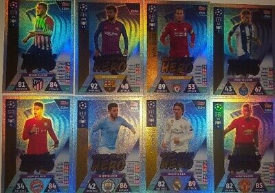 Match Attax Champions League 18 19 Update Road to Madrid limited Edition Club100
