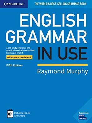 English Grammar in Use Book with Answers & Online Raymond Murphy 5th Ed 2019 NEW