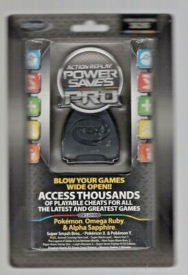Datel Action Replay PowerSaves PRO (USA) Cheat Codes for Nintendo 3DS - NEW!