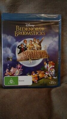 Bedknobs and Broomsticks - Blu-ray, Region FREE NEW/SEALED