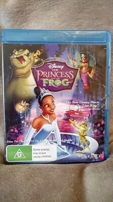 The Princess and the Frog  - BLU-RAY - NEW /SEALED  Region B CHEAPEST ON EBAY
