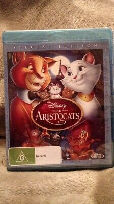 The Aristocats  Special Edition BLU-RAY  NEW/SEALED  Region B CHEAPEST ON EBAY