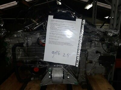 Porsche 986 2.5 engine, M96/20, used, with waranty !