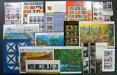 drbobstamps US MNH Self Adhesive Sheets & Souvenir Sheets Postage Lot Face $322