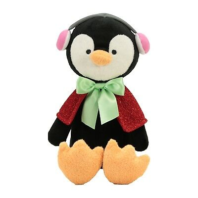 88c6a56bed NWT Animal Adventure PENGUIN Red Cape Earmuffs Holiday 13