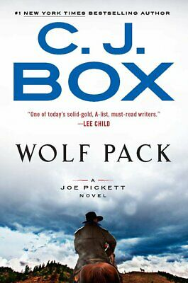 Wolf Pack by C. J. Box - NEW hardcover (2019)