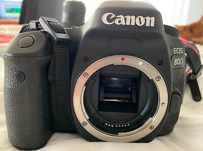 Canon EOS 80D 24.2MP Digital SLR Camera & Canon EFS 17-85 & EFS 10-18mm Lenses