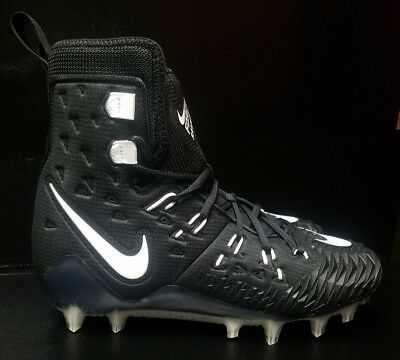 new product 470e2 d4107 Nike Force Savage Elite TD Football Cleats Black White 857063 011 Size 9