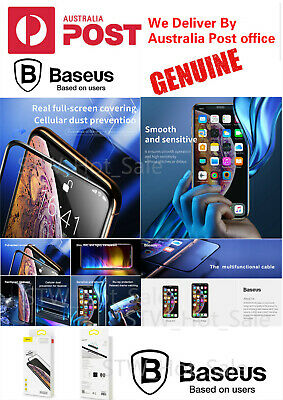 Baseus 3D Full Curved Tempered Glass screen Protector For iPhoneX /Xr /XS Max