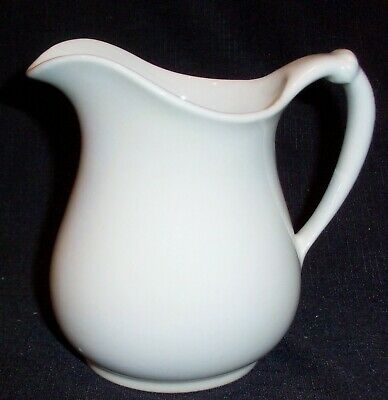Vintage Jug Pitcher in Off White by Homer Laughlin