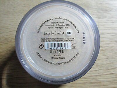 bare Minerals bareMinerals Foundation Fairly Light 8 g LSF 15 Dosiersieb NEU..